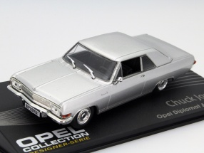 Opel Diplomat A V8 Coupe Chuck Jordan silver 1:43 Altaya