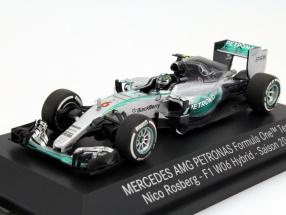 Nico Rosberg Mercedes F1 W06 Hybrid #6 formula 1 2015 1:43 Minichamps MB