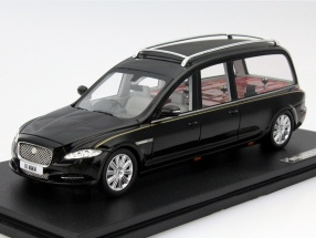 Jaguar Wilcox X351 Hearse Year 2013 black 1:43 GLM