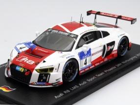 Audi R8 LMS #4 24h Nürburgring 2015 Basseng, Fässler, Rockenfeller, Stippler 1:43 Spark