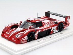 Toyota TS20 GT-One #29 24h LeMans 1998 Lees, Boutsen, Kelleners 1:43 Spark