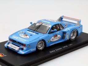 Lancia Beta #1 DRM Zolder 1981 Hans Heyer 1:43 Spark