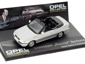 Opel Astra F Cabriolet Giuseppe Bertone silver 1:43 Altaya