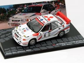 Mitsubishi Lancer RS EVO III #6 Rallye San Marino 1996 1:43 Altaya