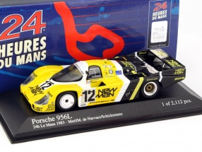 Porsche 956L #12 4th Place 24h LeMans 1983 1:43 Minichamps