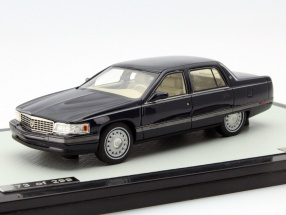 Cadillac Sedan De Ville Year 1994 dark blue metallic 1:43 GLM