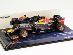 S. Vettel Red Bull RB9 #1 World Champion Brazil GP formula 1 2013 1:43 Minichamps