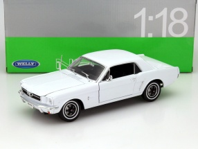Ford Mustang 1/2 Baujahr 1964 weiß 1:18 Welly