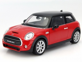 New Mini Hatch Baujahr 2015 rot 1:18 Welly