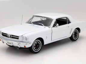 Ford Mustang 1/2 Year 1964 white 1:18 Welly