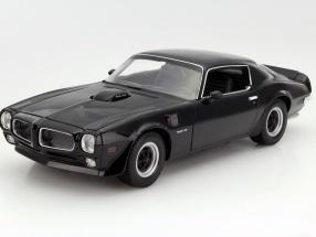 Pontiac Firebird Trans Am Baujahr 1972 schwarz 1:18 Welly