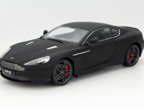 Aston Martin DB9 Coupe Year 2010 mat black 1:18 Welly