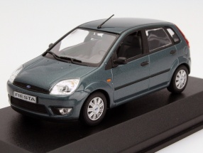 Ford Fiesta Year 2002 green 1:43 Minichamps