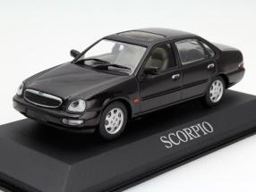 Ford Scorpio Limousine Year 1996 dark brown 1:43 Minichamps