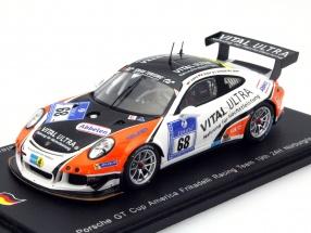 Porsche GT Cup #68 24h Nürburgring 2015 Kraling, Gindorf, de Phillippi, Abbelen 1:43 Spark