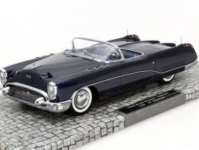 Buick Wildcat I Concept Baujahr 1953 dunkelblau 1:18 Minichamps