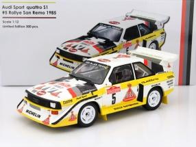 Audi Sport Quattro S1 #5 Winner Rallye San Remo 1985 Röhrl, Geistdörfer 1:12 OttOmobile