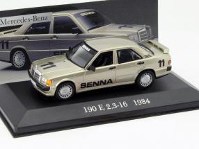 Mercedes-Benz 190 E 2.3-16 #11 Year 1984 Senna 1:43 Altaya
