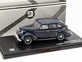 Volvo PV60 Baujahr 1947 dunkelblau 1:43 Triple 9