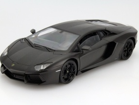 Lamborghini Aventador LP 700-4 Year 2011 mat Grey 1:18 Welly