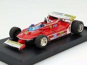 Jody Scheckter Ferrari 312T5 #1 Argentinien GP Formel 1 1980 1:43 Brumm