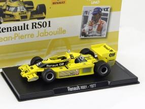 Jean-Pierre Jabouille Renault RS01 #15 formula 1 1977 1:43 Altaya