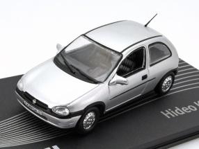 Opel Corsa B Hideo Kodama silver 1:43 Altaya