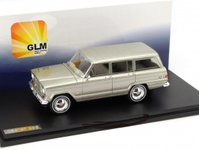 Jeep Wagoneer Year 1962 green metallic 1:43 GLM