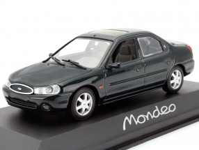Ford Mondeo Limousine Year 1996 dark green metallic 1:43 Minichamps