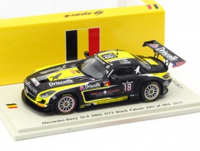Mercedes-Benz SLS AMG GT3 #18 24h Spa 2015 Morley, Johnston, Engel, Schneider 1:43 Spark