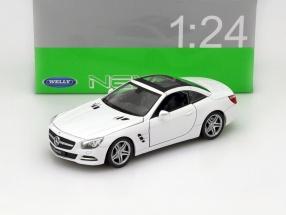 Mercedes-Benz SL 500 Baujahr 2012 weiß 1:24 Welly