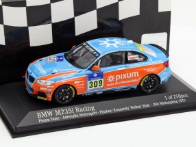BMW M235i Racing #309 24h Nürburgring 2015 Fischer, Konnerth, Wolter, Rink 1:43 Minichamps
