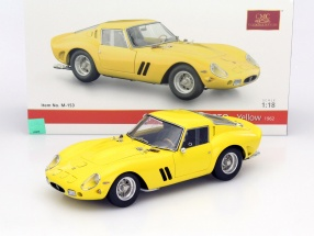 Ferrari 250 GTO Baujahr 1962 gelb 1:18 CMC