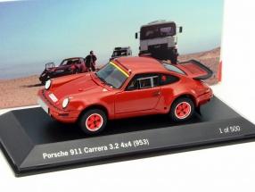 Porsche 911 (953) Carrera 3.2 4x4 rot 1:43 Spark