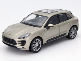 Porsche Macan Turbo Year 2015 silver 1:24 Welly