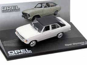 Opel Olympia A Year 1967-1970 gray / black 1:43 Altaya