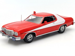Ford Gran Torino TV series Starsky and Hutch 1975-79 red / white 1:18 Greenlight
