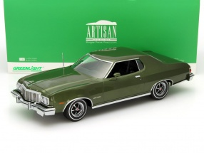 Ford Gran Torino Year 1976 dark green metallic 1:18 Greenlight