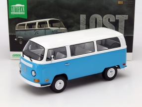 Volkswagen VW T2b Bus Tv-Serie Lost 2004-10 blau 1:18 Greenlight