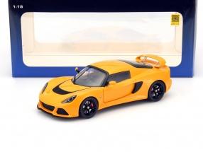 Lotus Exige S Baujahr 2012 gelb 1:18 AUTOart