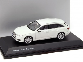 Audi A4 Avant gletscher weiß 1:43 Spark