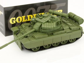Panzer T-55 James Bond movie Car Goldeneye 1:50 Ixo