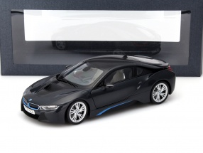 BMW i8 (i12) Year 2014 gray metallic 1:18 ParagonModels