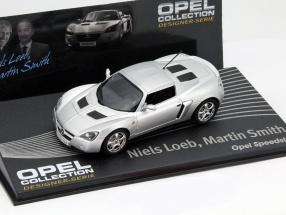 Opel Speedster silver Niels Loeb, Martin Smith 1:43 Altaya