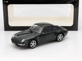 Porsche 911 (993) Carrera Year 1995 dark green 1:18 AUTOart