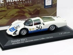 Porsche 906/6L #30 24h LeMans 1966 Siffert, Davis 1:43 Minichamps