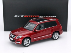 Mercedes-Benz GLK Year 2013 red 1:18 Welly GTA
