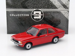 Opel Kadett C2 Baujahr 1977 rot 1:18 Triple9