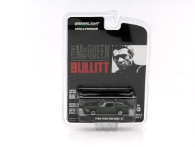 Ford Mustang GT out the Movie Bullitt 1968 dark green 1:64 Greenlight