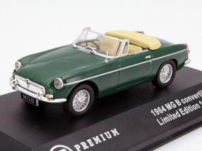 MG B Convertible Year 1964 green 1:43 Triple9